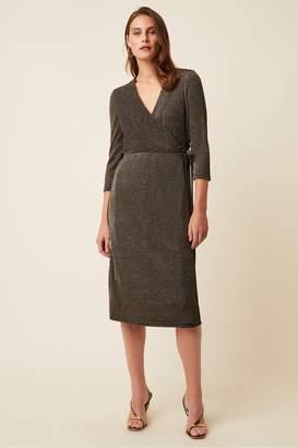 Great Plains Ivy Jersey V Neck Wrap Dress