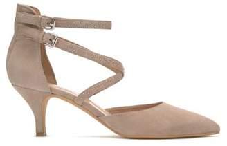 Mint Velvet Laura Mink Studded Low Heel