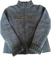 Donna Karan Blue Wool Knitwear for Women