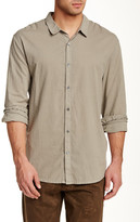 James Perse Classic Trim Fit Woven Shirt