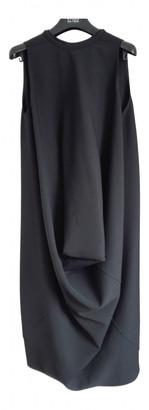 Rick Owens Black Wool Dresses