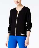 XOXO Juniors' Knit Bomber Jacket