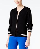 XOXO Juniors' Knit Bomber Jacket
