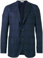 Boglioli checked blazer - men - Polyamide/Cotton/Acetate/Virgin Wool - 46