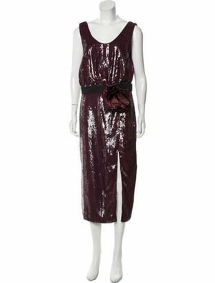Johanna Ortiz Tarantella Sequined Dress w/ Tags black