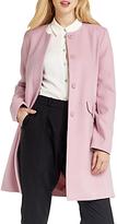 Oasis Collarless Coat