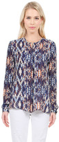 Parker Meade Blouse In Cayman Print