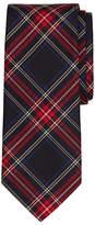 Brooks Brothers Black Tartan Tie
