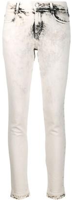 Stella McCartney bleached skinny jeans