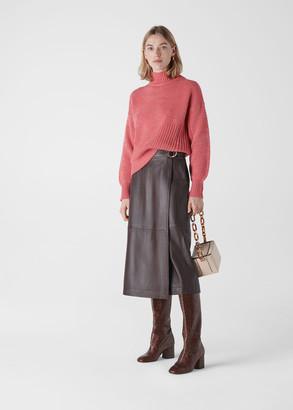 Moss Stitch Textured Knit