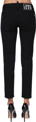 DSQUARED2 Jennifer Icon Cropped Denim Jeans