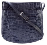 Vince Embossed Leather Crossbody Bag