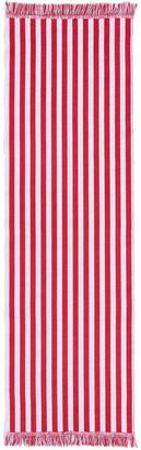 Hay Stripes & Stripes Rug - 60x200cm - Raspberry Ripple