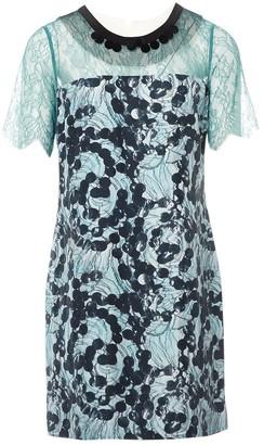 Clements Ribeiro Blue Silk Dresses
