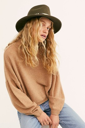 Nikki Beach Nomad Painted Leather Felt Hat