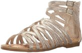 Stuart Weitzman Camia Loop (Tod/Yth) - Champagne Gold Metallic - 2 Youth