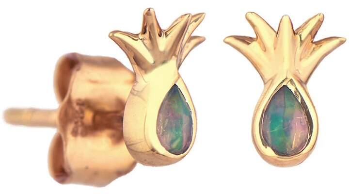 Celine Daoust Opal Pineapple Stud Earrings
