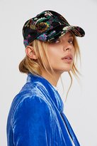 Free People Well-Traveled Embroidered Baseball Hat