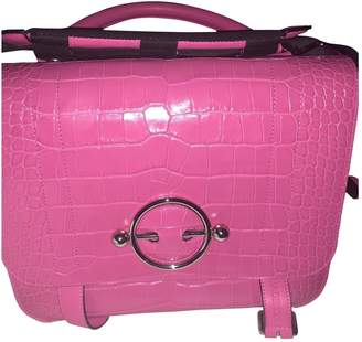 J.W.Anderson Disc Pink Leather Handbags