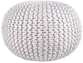 nuLoom Knitted Round Pouf