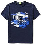 HUGO BOSS BOSS Green TeeOS Logo Short-Sleeve Graphic Tee