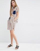 Baum und Pferdgarten Nedia Pajama Shorts in Stripe