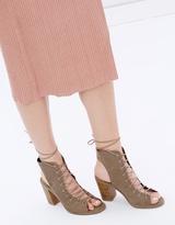 Spurr Camila Lace-Up Boots