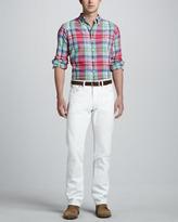 Polo Ralph Lauren Varick Slim-Fit Jeans, White