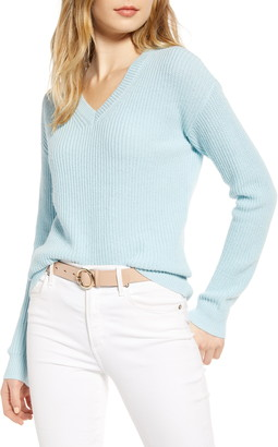 1901 Cotton & Wool Blend Shaker Sweater