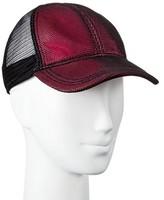 Mossimo Women's Mesh Baseball Hat Pink/Black