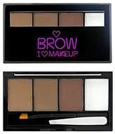I Heart Makeup I Heart Eyebrow Kit Woke Up Groom 4.5g (Pack of 4)