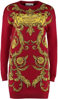 Moschino Intarsia Knit-dress