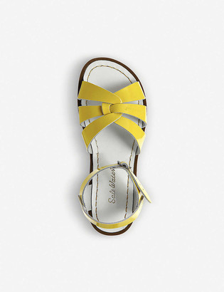 Saltwater Sandals Salt Water patent leather sandals