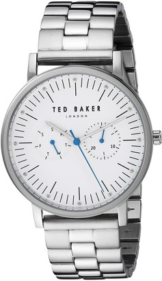 Ted Baker Male 'Brit Quartz Watch with Silver Strap Stainless Steel 20 (Model: TE50274005)