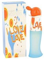Moschino MOSCHINO, I Love Love For Women. Eau De Toilette Spray 1 Ounces