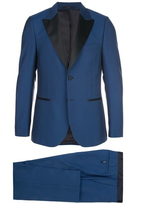 Paul Smith Satin Lapel Suit Jacket And Trousers