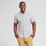 Goodfellow & Co Men's Standard Fit Short Sleeve Plaid Button Down Shirt