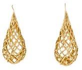 Alexis Bittar Woven Teardrop Earrings