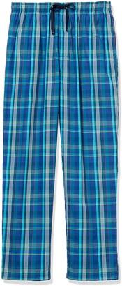 Nautica Men's Plaid Pajama Pant Emerald/Green