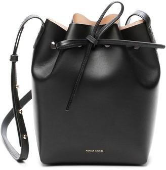 Mansur Gavriel Black Mini Bucket Bag - Ballerina