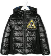 Fendi monster print padded jacket