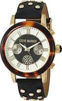 Steve Madden Women's Quartz Gold-Tone Casual Watch