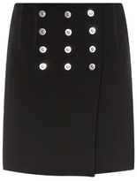 Balenciaga Rivet-detail mini skirt