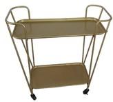 Crystal Art Gallery Golden Bar Cart