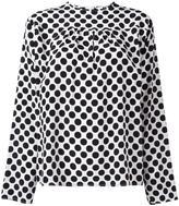 MSGM polka dot blouse - women - Silk/Polyester - 40