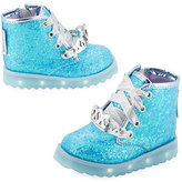 Sophia Webster Wiley Royalty Leather Boot, Blue, Toddler/Youth