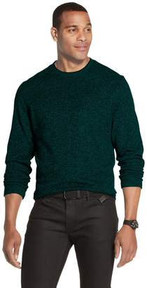 Van Heusen Men's Flex Sweater Fleece Crewneck