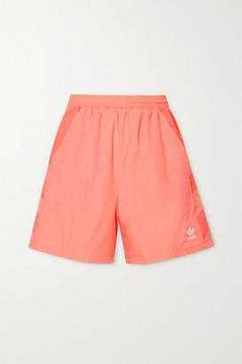 adidas Paneled Shell Shorts - Coral