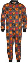 Manchester United F.C. Manchester United FC Official Gift Boys Kids Pyjama Onesie