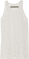 Enza Costa Striped jersey tank